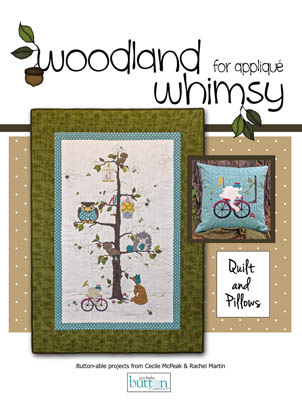 click here to view larger image of Woodland Whimsy for Applique (book)