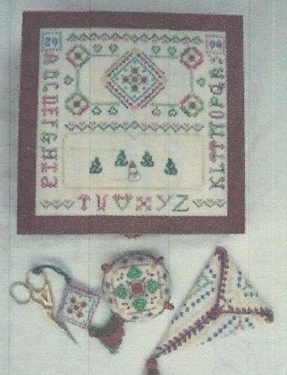 click here to view larger image of Christmas Time Sewing Box (chart)