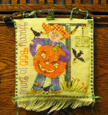 click here to view larger image of Scarecrow Sam's Jack-O-Lantern (chart)