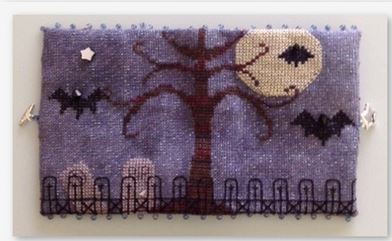 click here to view larger image of Bats All Folks Needle Case (accessory)