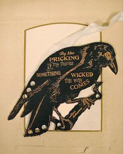 click here to view larger image of Raven Wooden Thread Palette (accessory)