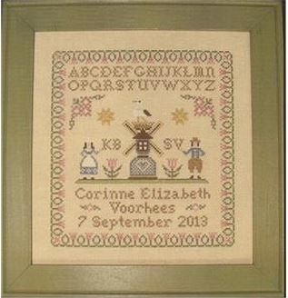 click here to view larger image of Corinne's Sampler (chart)