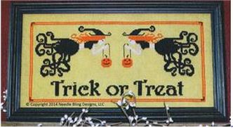 click here to view larger image of Trick or Treat (chart)