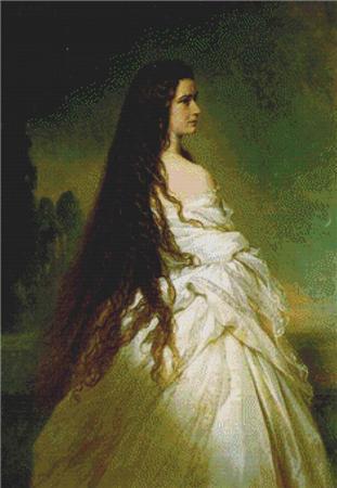 click here to view larger image of Elizabeth Kaiserin von Osterreich (chart)