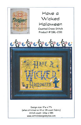 click here to view larger image of Wicked Halloween (chart)