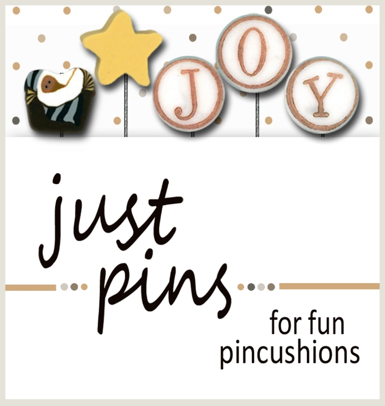 click here to view larger image of Just Pins - J is for Joy (pin)