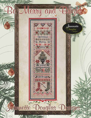 click here to view larger image of Be Merry & Bright Sampler (chart)
