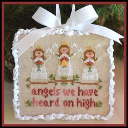 click here to view larger image of Angels - Classic Collection Ornaments #1 (chart)