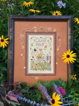 click here to view larger image of Harvest of Plenty (counted cross stitch kit)