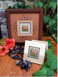 click here to view larger image of Autumn Box (counted cross stitch kit)