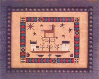 click here to view larger image of Horse Vane Quilt (chart)
