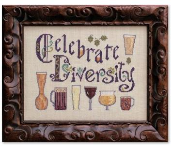 click here to view larger image of Celebrate Diversity (chart)