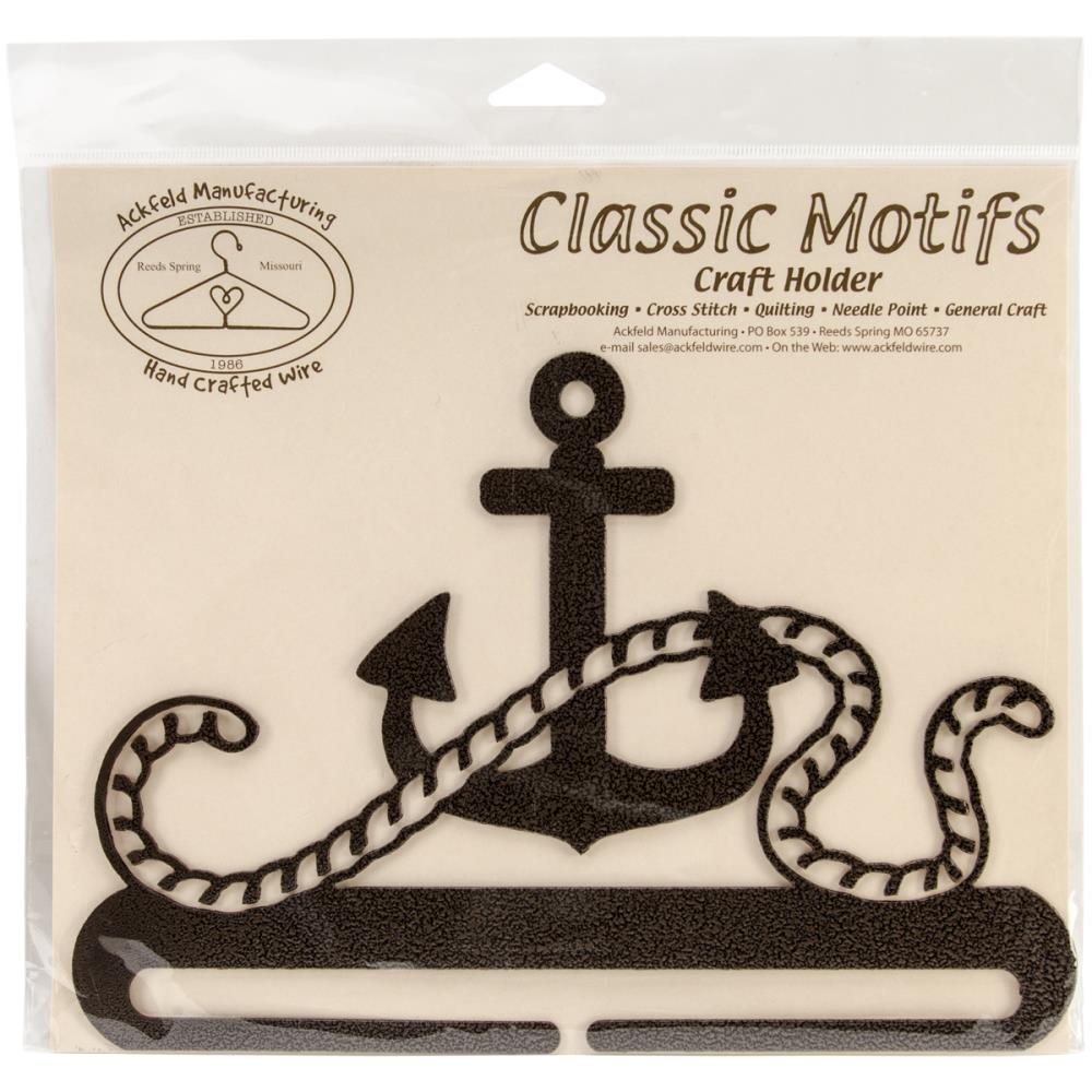 click here to view larger image of Anchor Copper Vein 8in Fabric Holder (accessory)