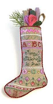 click here to view larger image of Merry Stitch Stocking (chart)