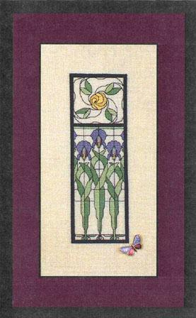 click here to view larger image of Iris Window Garden (chart)