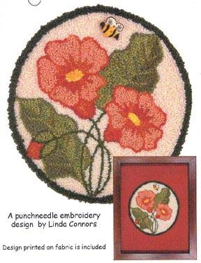 click here to view larger image of Bee's Delight - Punchneedle (Punchneedle)