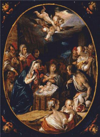click here to view larger image of Adoration of Shepherds, The (chart)