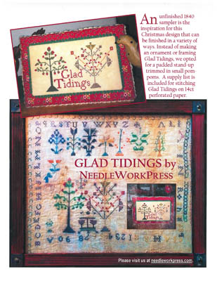 click here to view larger image of Glad Tidings (chart)