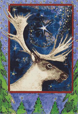 click here to view larger image of Christmas Reindeer (chart)