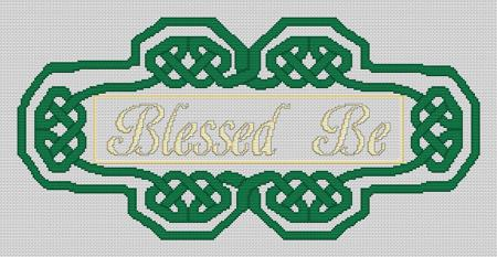 click here to view larger image of Blessed Be Knotwork (chart)
