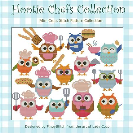click here to view larger image of Hootie Chefs Collection (chart)