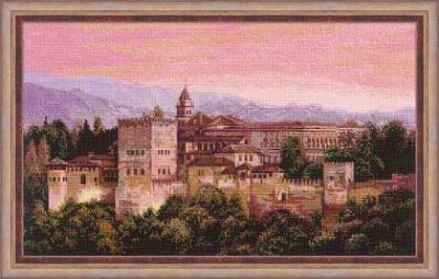 click here to view larger image of Alhambra (counted cross stitch kit)