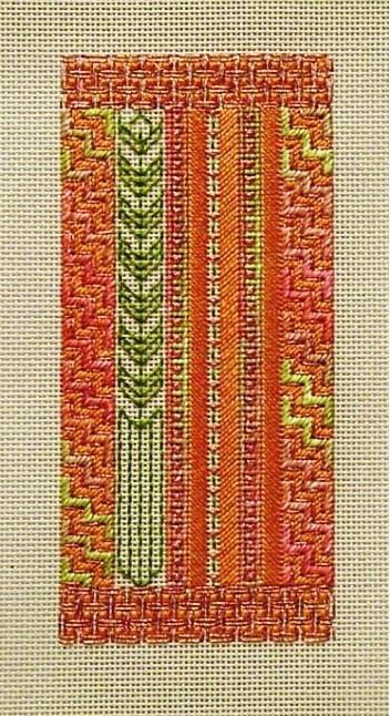 click here to view larger image of Autumn Wheat with Blackwork (counted canvas chart)