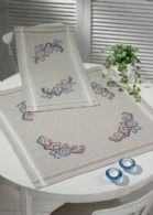 click here to view larger image of Early Morning Table Cloth (Lower) (stamped cross stitch kit)
