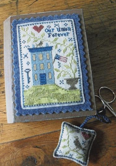 click here to view larger image of Patriotic Stitch Book (chart)