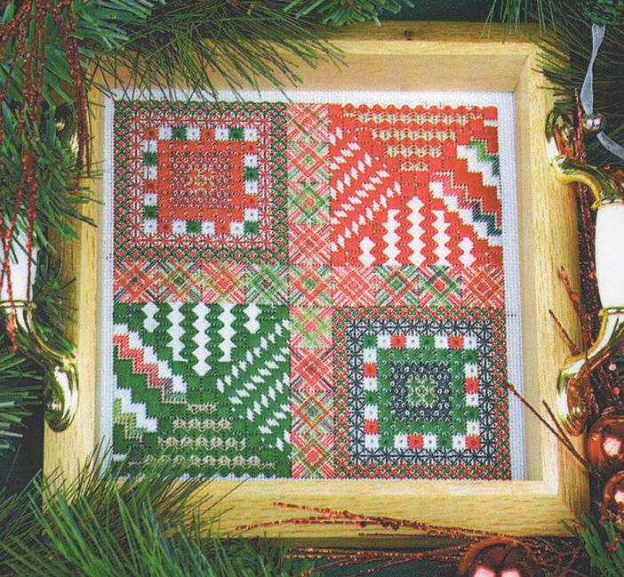 Ho! Ho! Ho! - click here for more details about counted canvas chart