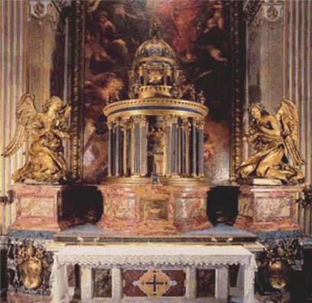 click here to view larger image of Alter of the Cappella del Sacramento (chart)