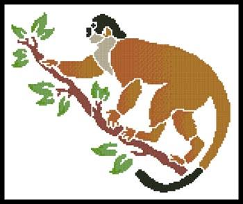 click here to view larger image of Squirrel Monkey (chart)