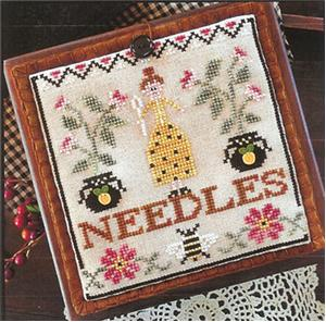 click here to view larger image of Pretty in Perle - Needle Lady Pocket (chart)