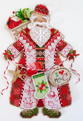 click here to view larger image of Spirit of the Christmas Stitching - Santa (chart)