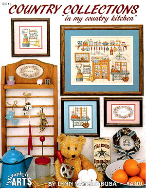 click here to view larger image of Country Collections 1 - In My Country Kitchen (chart)