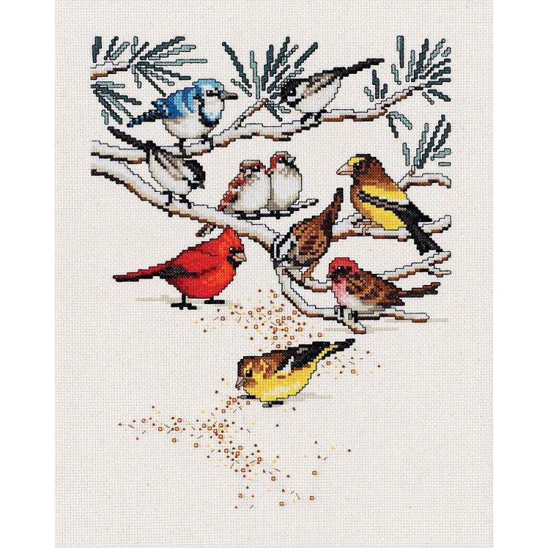 click here to view larger image of Bird Seed (counted cross stitch kit)