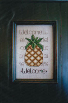 click here to view larger image of Pineapple Welcome, A (chart)