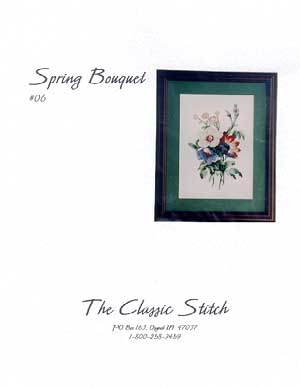 click here to view larger image of Spring Bouquet (chart)