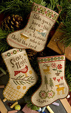 click here to view larger image of Flora McSample's 2014 Stocking (chart with charms/buttons)