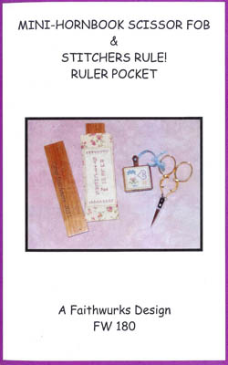 click here to view larger image of Mini Hornbook & Ruler Pocket (chart)