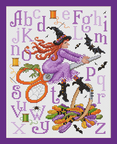 click here to view larger image of Witch's Stitches (chart)