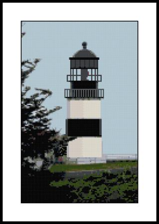 click here to view larger image of Cape Disappointment Lighthouse (chart)