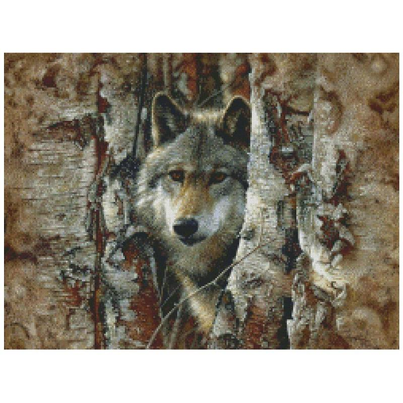 click here to view larger image of Woodland Spirit (counted cross stitch kit)