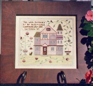 click here to view larger image of Lavender House Sampler (chart)