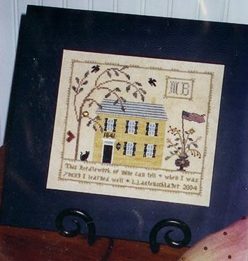 click here to view larger image of Butternut House Sampler (chart)