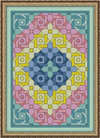 click here to view larger image of Springtime Flowers Quilt (chart)