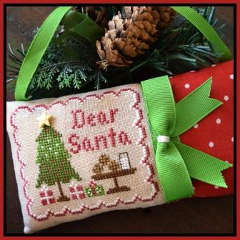 Dear Santa - Classic Collection Ornament #2 - click here for more details about chart