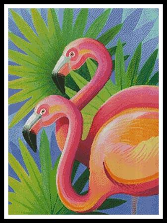 click here to view larger image of Flamingos (chart)