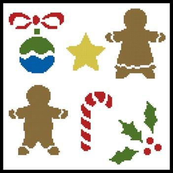 click here to view larger image of Little Christmas Motifs  (Joni Prittie) (chart)