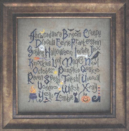 Halloween Sampler - click here for more details about chart